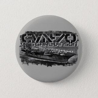 Bóton Redondo 5.08cm Botão redondo do botão de Carl Vinson do