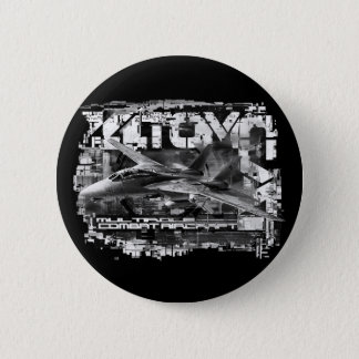 Bóton Redondo 5.08cm Botão redondo do botão de F-14 Tomcat