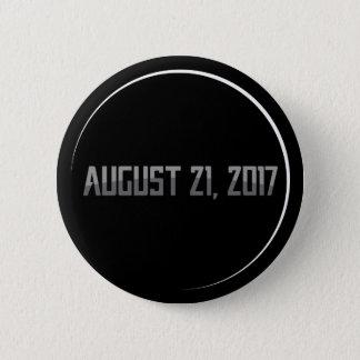 Bóton Redondo 5.08cm Botão redondo do eclipse solar 2017 totais
