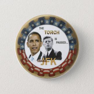 Bóton Redondo 5.08cm Botão retro de Obama/JFK