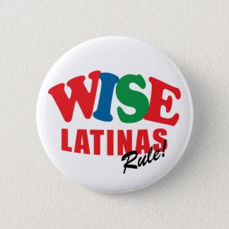 Bóton Redondo 5.08cm botão sábio de latina do sotomayor