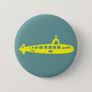 Bóton Redondo 5.08cm Botão submarino amarelo