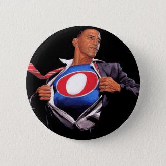 Bóton Redondo 5.08cm Botão super de Obama