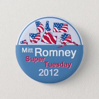 Bóton Redondo 5.08cm Botão SUPER de Romney TERÇA-FEIRA