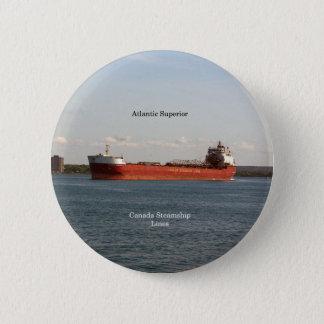 Bóton Redondo 5.08cm Botão superior atlântico