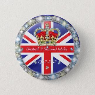 Bóton Redondo 5.08cm Botão traseiro comemorativo do Pin do jubileu de