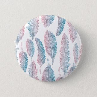 Bóton Redondo 5.08cm Botão tribal colorido do Pin do teste padrão   da