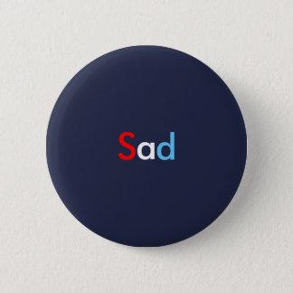 Bóton Redondo 5.08cm Botão triste