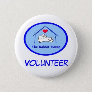 Bóton Redondo 5.08cm Botões conhecidos voluntários de TRH