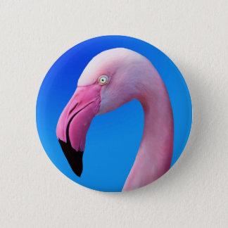 Bóton Redondo 5.08cm Botões cor-de-rosa do close up do retrato do