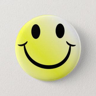 Bóton Redondo 5.08cm Botões do smiley face