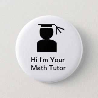 Bóton Redondo 5.08cm Botões do tutor da matemática