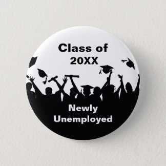 Bóton Redondo 5.08cm Botões engraçados do Pin da graduação