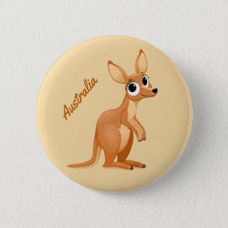 Bóton Redondo 5.08cm Botões feitos sob encomenda do texto do canguru