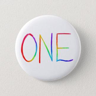 Bóton Redondo 5.08cm Botões inspirados de UM Pin da palavra do