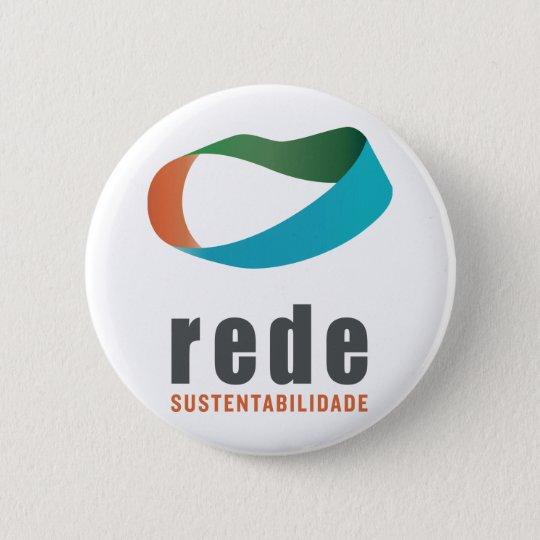 Bóton Redondo 5.08cm Botton - Rede Sustentabilidade