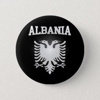 Bóton Redondo 5.08cm Brasão de Albânia