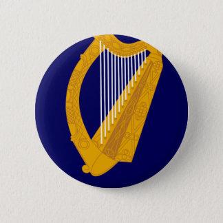 Bóton Redondo 5.08cm Brasão de Ireland - emblema irlandês