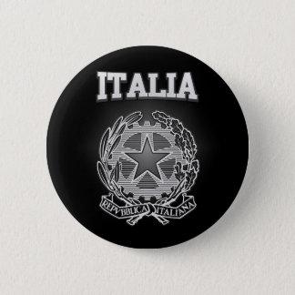 Bóton Redondo 5.08cm Brasão de Italia