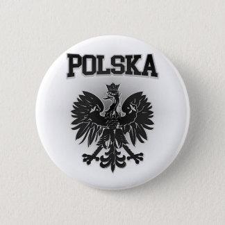 Bóton Redondo 5.08cm Brasão de Polska