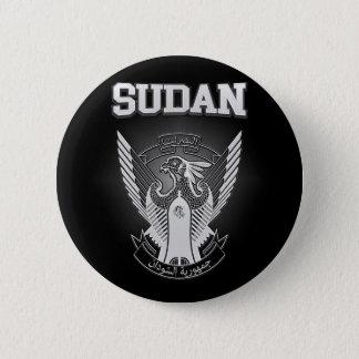 Bóton Redondo 5.08cm Brasão de Sudão