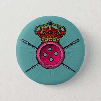 Bóton Redondo 5.08cm Brasão engraçada para as pessoas que amam Sewing