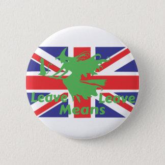 Bóton Redondo 5.08cm brexit