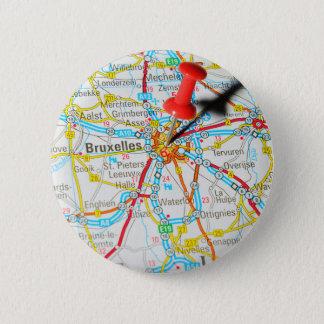 Bóton Redondo 5.08cm Bruxelas, Bruxelas, Bruxelas em Bélgica