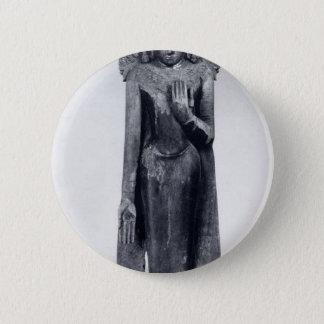 Bóton Redondo 5.08cm Buddha coroado - período pagão