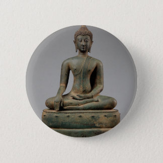 Bóton Redondo 5.08cm Buddha - Tailândia assentados