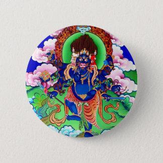 Bóton Redondo 5.08cm Budismo tibetano Thangka budista Ucchusma