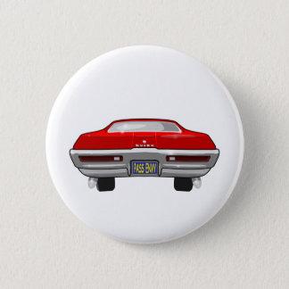 Bóton Redondo 5.08cm Buick 1968 Califórnia GS