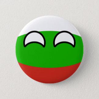 Bóton Redondo 5.08cm Bulgária Geeky de tensão engraçada Countryball