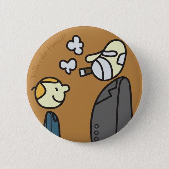 Bóton Redondo 5.08cm Button Filho do Freud
