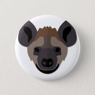 Bóton Redondo 5.08cm Cabeça da hiena dos desenhos animados