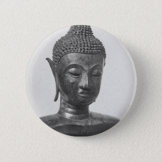 Bóton Redondo 5.08cm Cabeça de Buddha - século XV - Tailândia