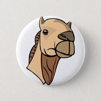 Bóton Redondo 5.08cm Cabeça do camelo
