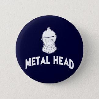 Bóton Redondo 5.08cm Cabeça do metal