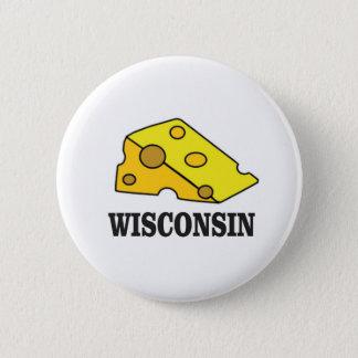 Bóton Redondo 5.08cm Cabeça do queijo de Wisconsin