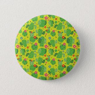 Bóton Redondo 5.08cm Cacto mim parte externa (verde) - botão