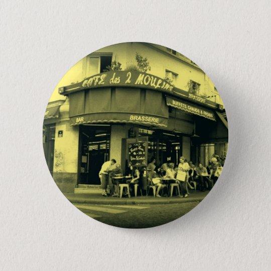 Bóton Redondo 5.08cm Café Le Deux Moulain