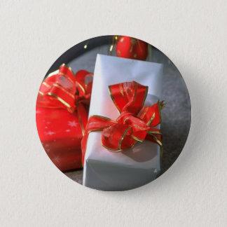 Bóton Redondo 5.08cm Caixas de presente de época natalícia