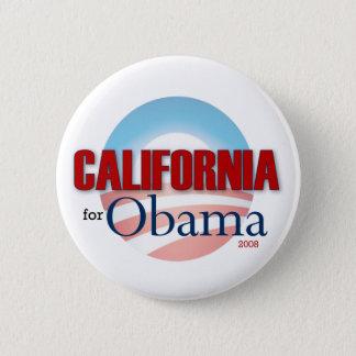 Bóton Redondo 5.08cm Califórnia para Obama