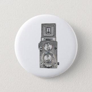 Bóton Redondo 5.08cm câmera gêmea do reflexo TLR