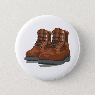Bóton Redondo 5.08cm Caminhando botas