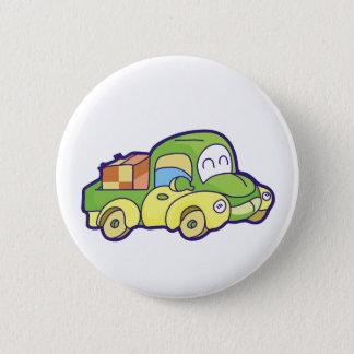Bóton Redondo 5.08cm Camionete verde