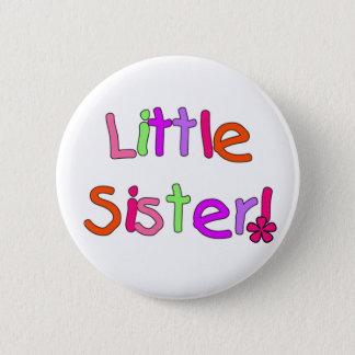 Bóton Redondo 5.08cm Camiseta e presentes da irmã mais nova