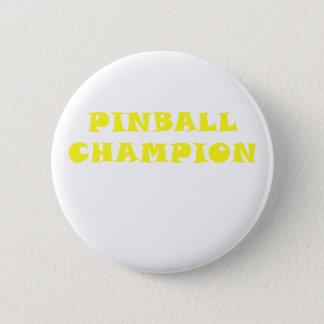 Bóton Redondo 5.08cm Campeão do Pinball