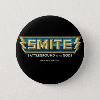 Bóton Redondo 5.08cm Campo de batalha do logotipo do SMITE dos deuses