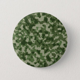 Bóton Redondo 5.08cm Camuflagem militar do verde da selva
